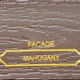 Facade Mahogany
